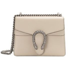 Gucci Bags - Gucci leather small Dionysus with crystals